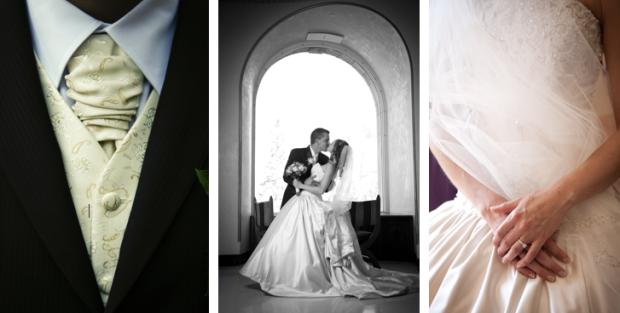 C E Bespoke Weddings home page image