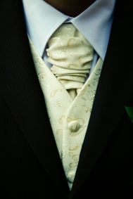 Cravat for a wedding